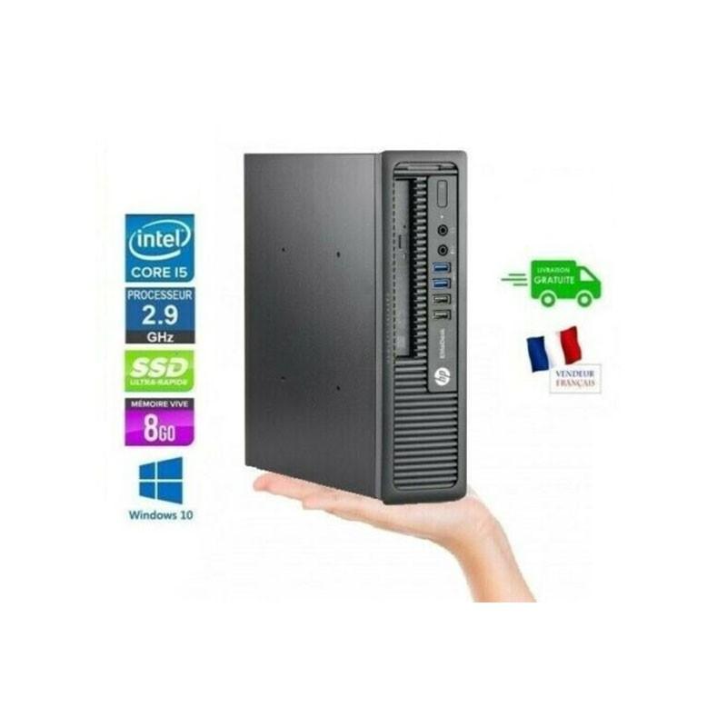 HP EliteDesk 800 G1 - W10 Core I5-4570S 2.9GHz
