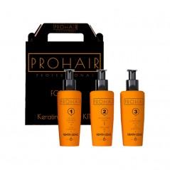 ProHair Kit de lissage à la kératine 3x150ml