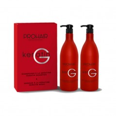 ProHair Coffret Keratin G shampoing et masque 1l